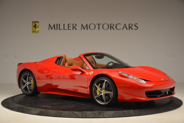 Used 2013 Ferrari 458 Spider for sale Sold at Maserati of Greenwich in Greenwich CT 06830 10
