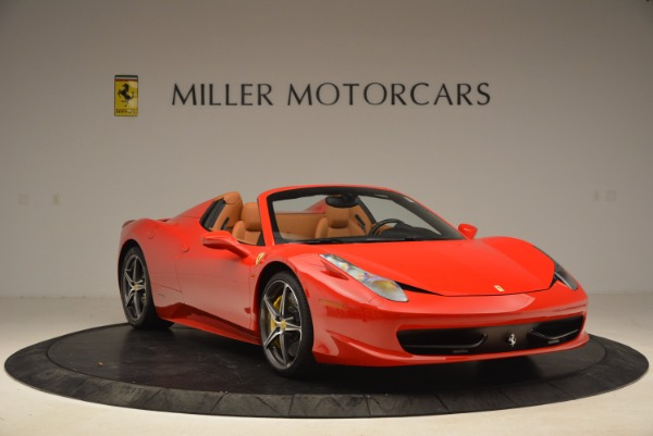 Used 2013 Ferrari 458 Spider for sale Sold at Maserati of Greenwich in Greenwich CT 06830 11