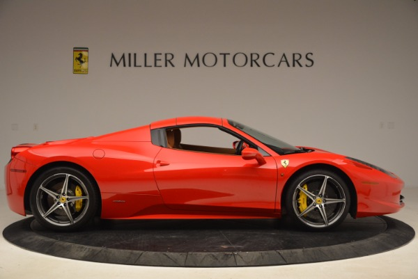 Used 2013 Ferrari 458 Spider for sale Sold at Maserati of Greenwich in Greenwich CT 06830 21
