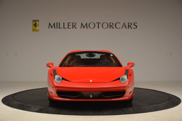 Used 2013 Ferrari 458 Spider for sale Sold at Maserati of Greenwich in Greenwich CT 06830 24
