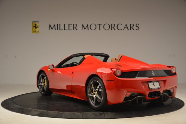 Used 2013 Ferrari 458 Spider for sale Sold at Maserati of Greenwich in Greenwich CT 06830 5