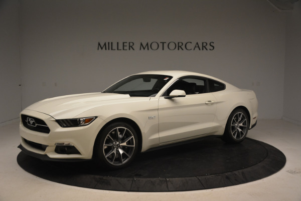 Used 2015 Ford Mustang GT 50 Years Limited Edition for sale Sold at Maserati of Greenwich in Greenwich CT 06830 2