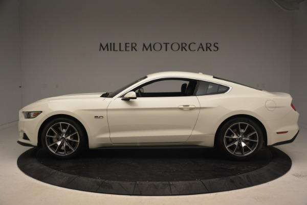 Used 2015 Ford Mustang GT 50 Years Limited Edition for sale Sold at Maserati of Greenwich in Greenwich CT 06830 3