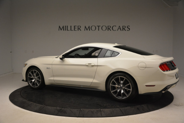 Used 2015 Ford Mustang GT 50 Years Limited Edition for sale Sold at Maserati of Greenwich in Greenwich CT 06830 4