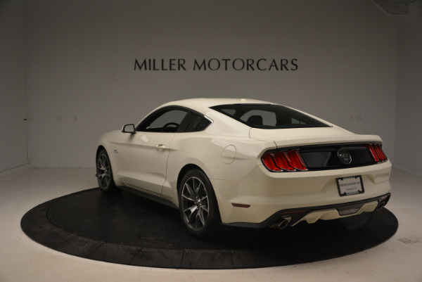 Used 2015 Ford Mustang GT 50 Years Limited Edition for sale Sold at Maserati of Greenwich in Greenwich CT 06830 5