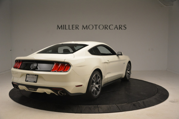 Used 2015 Ford Mustang GT 50 Years Limited Edition for sale Sold at Maserati of Greenwich in Greenwich CT 06830 7