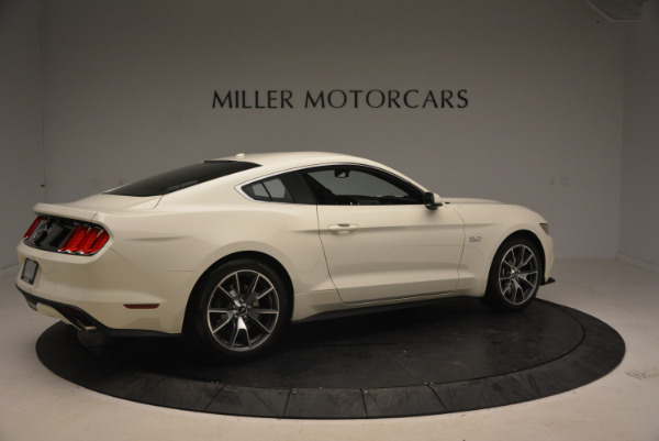 Used 2015 Ford Mustang GT 50 Years Limited Edition for sale Sold at Maserati of Greenwich in Greenwich CT 06830 8