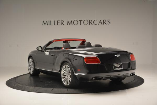 Used 2014 Bentley Continental GT Speed Convertible for sale Sold at Maserati of Greenwich in Greenwich CT 06830 5