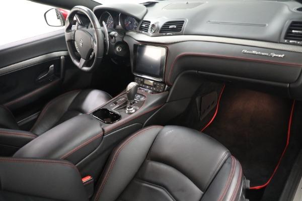 Used 2018 Maserati GranTurismo Sport for sale $94,900 at Maserati of Greenwich in Greenwich CT 06830 18