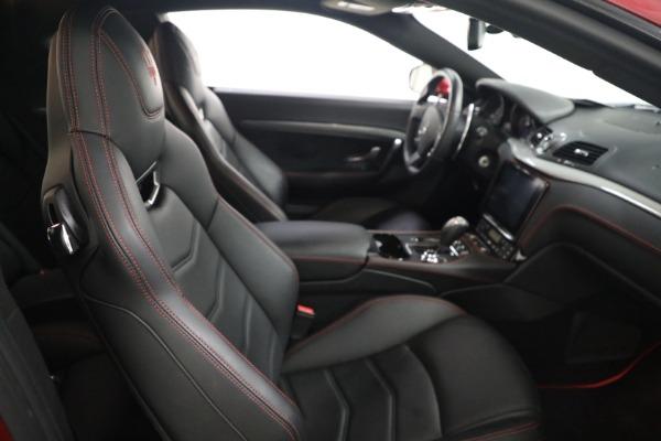 Used 2018 Maserati GranTurismo Sport for sale $94,900 at Maserati of Greenwich in Greenwich CT 06830 19