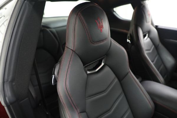 Used 2018 Maserati GranTurismo Sport for sale $94,900 at Maserati of Greenwich in Greenwich CT 06830 20