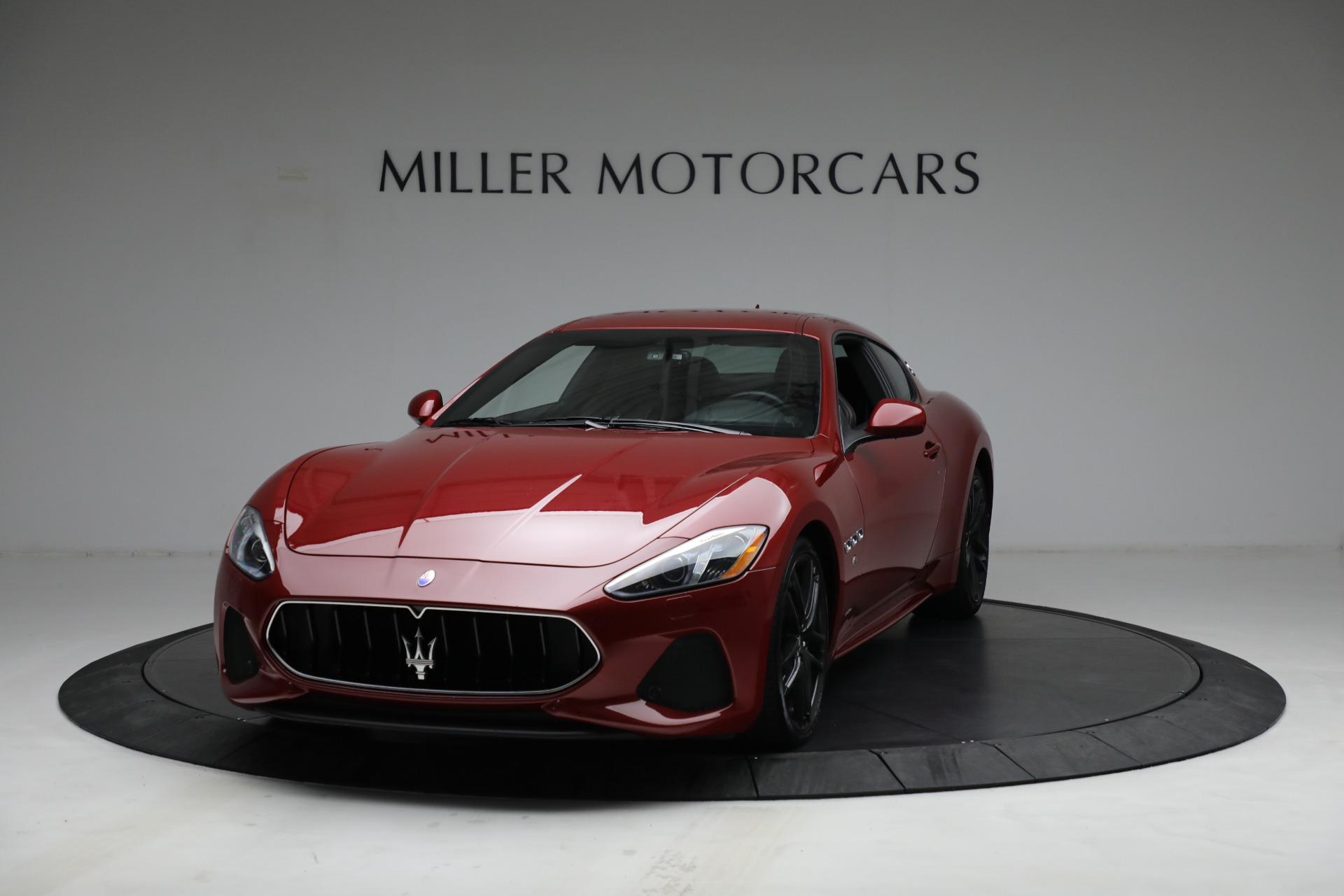 Used 2018 Maserati GranTurismo Sport for sale $94,900 at Maserati of Greenwich in Greenwich CT 06830 1