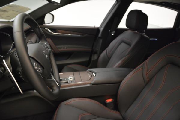 Used 2018 Maserati Quattroporte S Q4 GranLusso for sale Sold at Maserati of Greenwich in Greenwich CT 06830 13