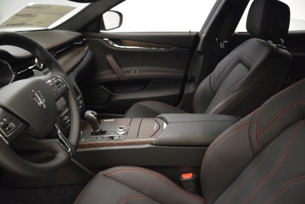 Used 2018 Maserati Quattroporte S Q4 GranLusso for sale Sold at Maserati of Greenwich in Greenwich CT 06830 14