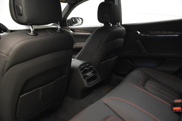 Used 2018 Maserati Quattroporte S Q4 GranLusso for sale Sold at Maserati of Greenwich in Greenwich CT 06830 19