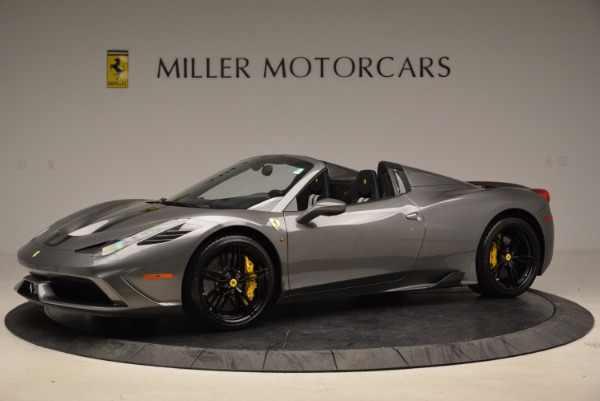 Used 2015 Ferrari 458 Speciale Aperta for sale Sold at Maserati of Greenwich in Greenwich CT 06830 2