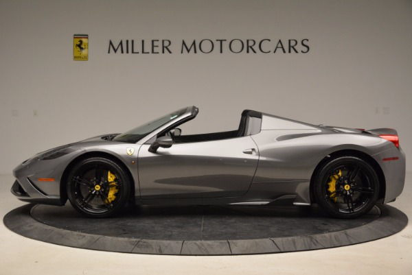 Used 2015 Ferrari 458 Speciale Aperta for sale Sold at Maserati of Greenwich in Greenwich CT 06830 3