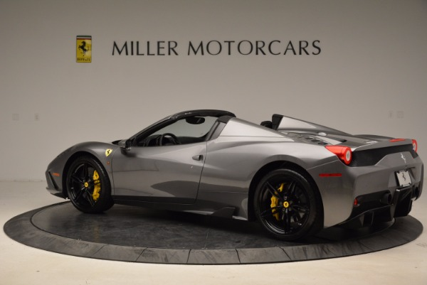 Used 2015 Ferrari 458 Speciale Aperta for sale Sold at Maserati of Greenwich in Greenwich CT 06830 4