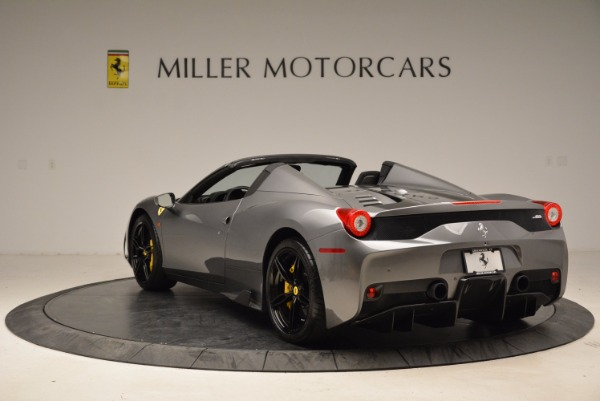 Used 2015 Ferrari 458 Speciale Aperta for sale Sold at Maserati of Greenwich in Greenwich CT 06830 5