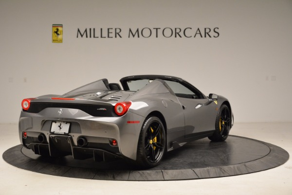 Used 2015 Ferrari 458 Speciale Aperta for sale Sold at Maserati of Greenwich in Greenwich CT 06830 7