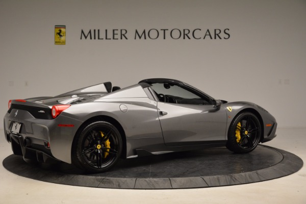 Used 2015 Ferrari 458 Speciale Aperta for sale Sold at Maserati of Greenwich in Greenwich CT 06830 8