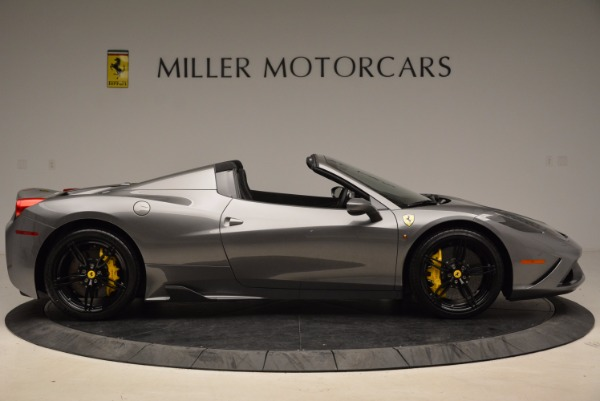 Used 2015 Ferrari 458 Speciale Aperta for sale Sold at Maserati of Greenwich in Greenwich CT 06830 9