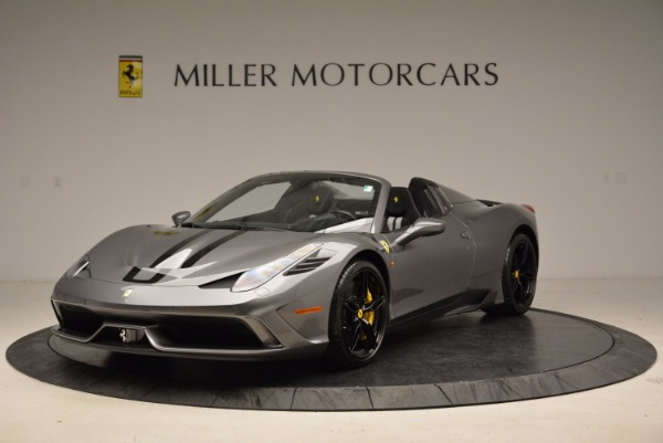 Used 2015 Ferrari 458 Speciale Aperta for sale Sold at Maserati of Greenwich in Greenwich CT 06830 1