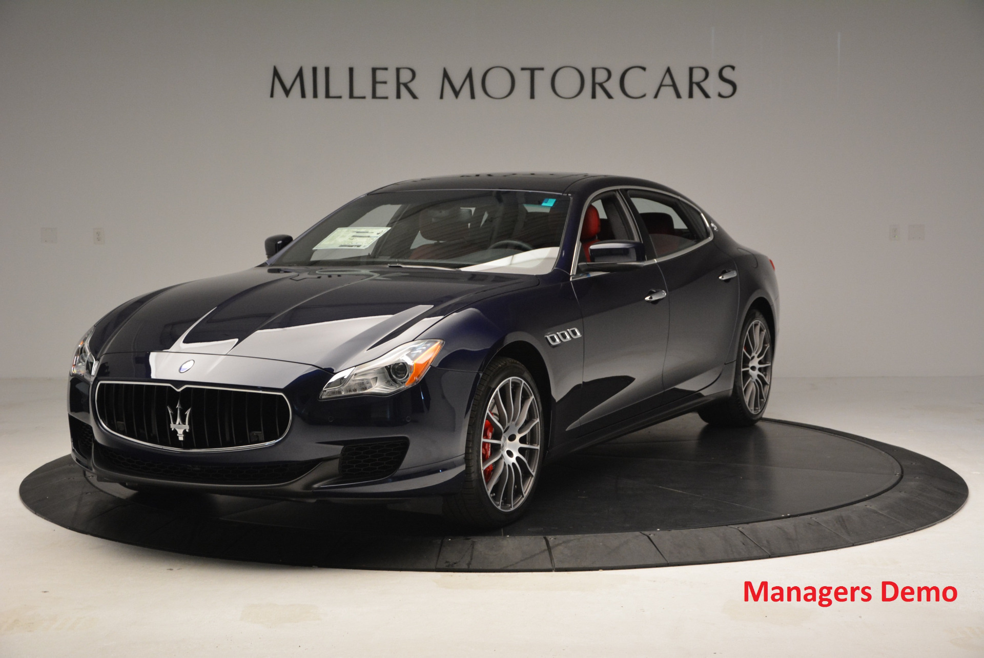 New 2016 Maserati Quattroporte S Q4  *******      DEALER'S  DEMO for sale Sold at Maserati of Greenwich in Greenwich CT 06830 1