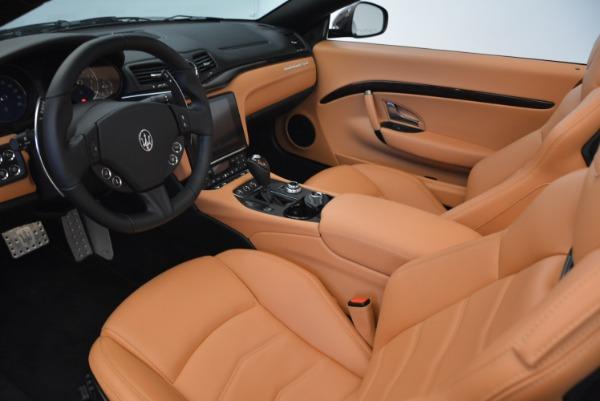 Used 2018 Maserati GranTurismo Sport Convertible for sale $92,995 at Maserati of Greenwich in Greenwich CT 06830 23