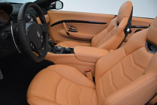 Used 2018 Maserati GranTurismo Sport Convertible for sale $92,995 at Maserati of Greenwich in Greenwich CT 06830 24
