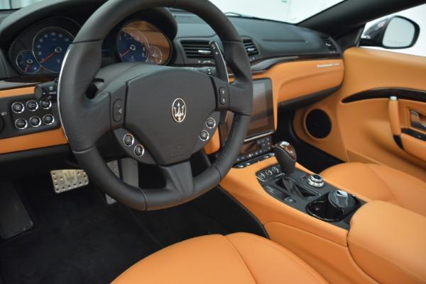 Used 2018 Maserati GranTurismo Sport Convertible for sale $92,995 at Maserati of Greenwich in Greenwich CT 06830 26