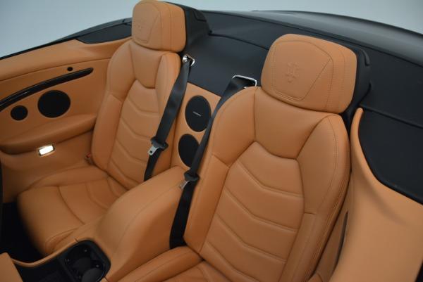 Used 2018 Maserati GranTurismo Sport Convertible for sale $92,995 at Maserati of Greenwich in Greenwich CT 06830 28