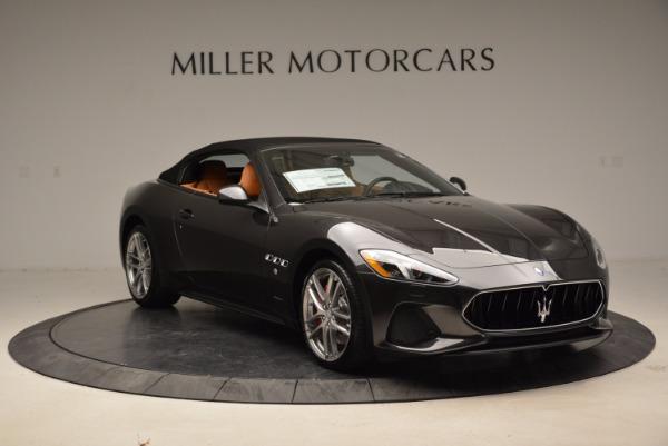 New 2018 Maserati GranTurismo Sport Convertible for sale Sold at Maserati of Greenwich in Greenwich CT 06830 11