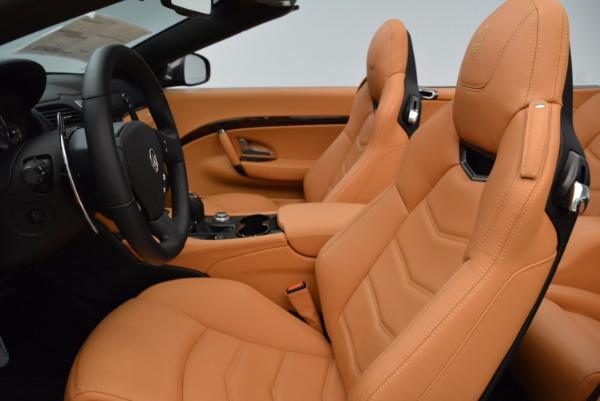 New 2018 Maserati GranTurismo Sport Convertible for sale Sold at Maserati of Greenwich in Greenwich CT 06830 25