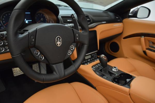 New 2018 Maserati GranTurismo Sport Convertible for sale Sold at Maserati of Greenwich in Greenwich CT 06830 28