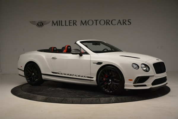Used 2018 Bentley Continental GTC Supersports Convertible for sale Sold at Maserati of Greenwich in Greenwich CT 06830 10
