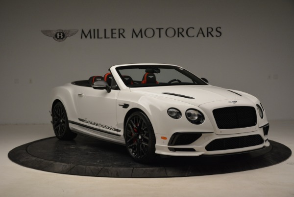 Used 2018 Bentley Continental GTC Supersports Convertible for sale Sold at Maserati of Greenwich in Greenwich CT 06830 11