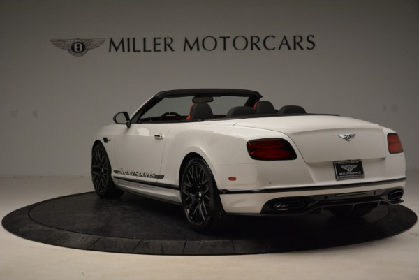 Used 2018 Bentley Continental GTC Supersports Convertible for sale Sold at Maserati of Greenwich in Greenwich CT 06830 5