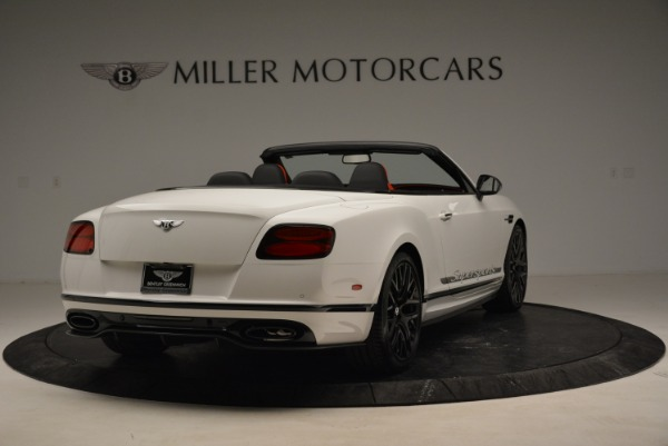 Used 2018 Bentley Continental GTC Supersports Convertible for sale Sold at Maserati of Greenwich in Greenwich CT 06830 7
