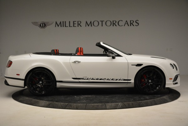 Used 2018 Bentley Continental GTC Supersports Convertible for sale Sold at Maserati of Greenwich in Greenwich CT 06830 9
