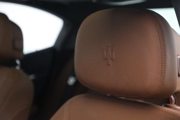 Used 2018 Maserati Ghibli S Q4 for sale $54,900 at Maserati of Greenwich in Greenwich CT 06830 16