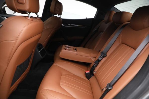 Used 2018 Maserati Ghibli S Q4 for sale $54,900 at Maserati of Greenwich in Greenwich CT 06830 22