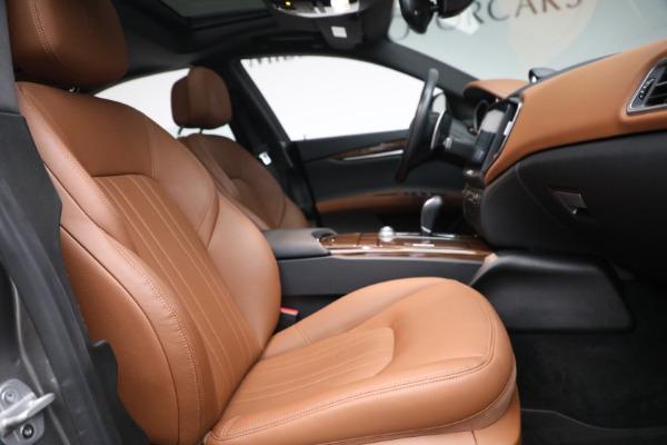 Used 2018 Maserati Ghibli S Q4 for sale $54,900 at Maserati of Greenwich in Greenwich CT 06830 26