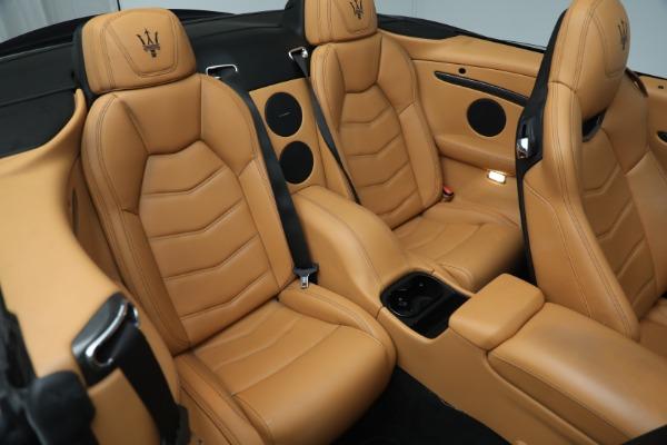 New 2018 Maserati GranTurismo MC Convertible for sale Sold at Maserati of Greenwich in Greenwich CT 06830 26