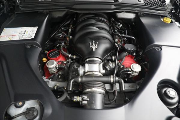 New 2018 Maserati GranTurismo MC Convertible for sale Sold at Maserati of Greenwich in Greenwich CT 06830 27