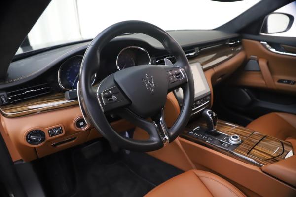 Used 2018 Maserati Quattroporte S Q4 GranLusso for sale $69,900 at Maserati of Greenwich in Greenwich CT 06830 16