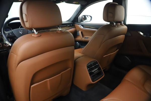Used 2018 Maserati Quattroporte S Q4 GranLusso for sale $69,900 at Maserati of Greenwich in Greenwich CT 06830 20
