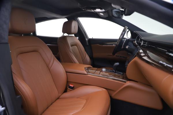 Used 2018 Maserati Quattroporte S Q4 GranLusso for sale $69,900 at Maserati of Greenwich in Greenwich CT 06830 21