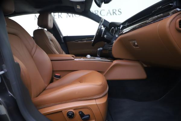 Used 2018 Maserati Quattroporte S Q4 GranLusso for sale $69,900 at Maserati of Greenwich in Greenwich CT 06830 22
