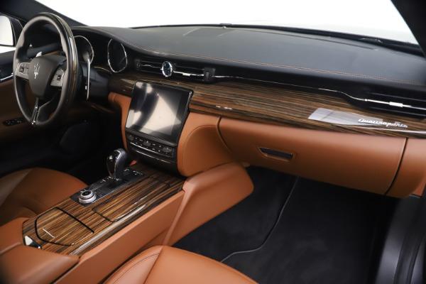 Used 2018 Maserati Quattroporte S Q4 GranLusso for sale $69,900 at Maserati of Greenwich in Greenwich CT 06830 23